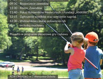 2.06.2019 zawody wędkarskie z okazji Dnia Dziecka